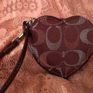 Coach Key and change purse